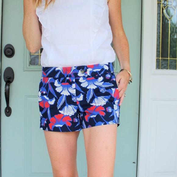 "J. Crew Factory Pants - J Crew Floral 4"" Shorts"